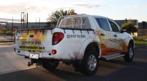 Liberty Equipment Hire Car